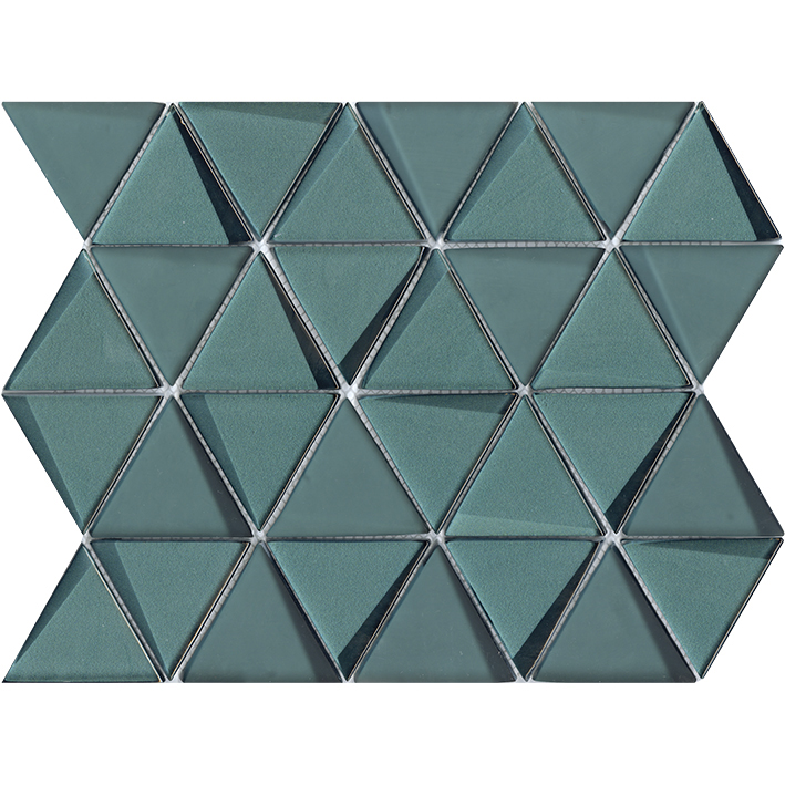 Effect Triangle Emerald 31x26x0,8