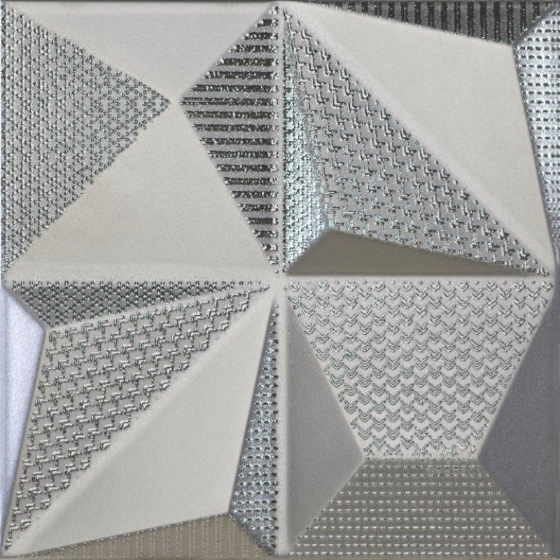 Multishapes Silver 25x25