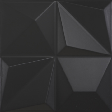 Multishapes Black 25x25